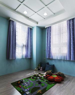 现代简约风格精装三室两厅室内装修效果图案例