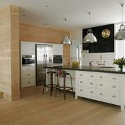 现代风格复式楼室内整体厨房装修效果图赏析