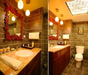 100平米古典中式风格精致室内装修效果图案例