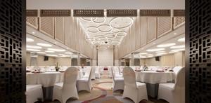 200平米欧式风格豪华酒店宴会厅设计装修效果图
