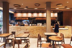 81平米美式乡村风格文艺咖啡厅装修效果图