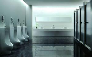 现代简约风格酒店公共卫生间装修效果图赏析