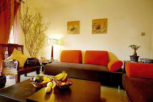 古典中式风格精致两室两厅室内装修效果图欣赏
