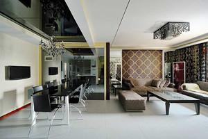 118平米简欧风格精致两居室室内装修效果图实例