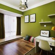 清新美式风格大户型榻榻米卧室装修效果图赏析