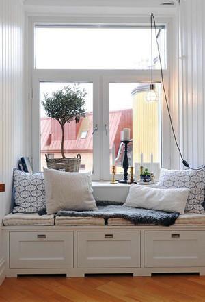 欧式风格纯白精致飘窗设计装修效果图赏析