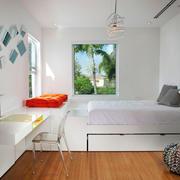 8平米现代简约风格卧室装修效果图赏析