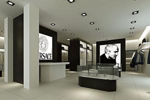 68平米现代简约风格服装店装修效果图赏析