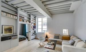 140平米北欧风格纯白精致大户型装修效果图案例