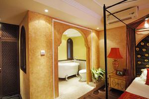 320平米东南亚混搭风格别墅室内装修效果图案例