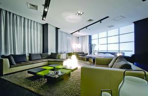 149平米后现代风格精装大户型室内装修效果图案例