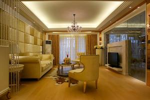 145平米简欧风格精致三室两厅室内装修效果图案例