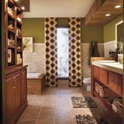 16平米美式风格大户型卫生间装修效果图赏析
