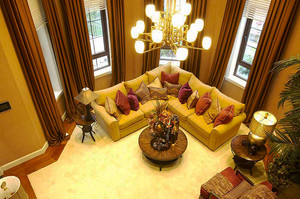 316平米新古典主义风格别墅室内装修效果图案例