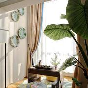 中式风格时尚创意阳台设计装修效果图