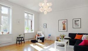 66平米北欧风格温馨一居室小户型装修效果图赏析
