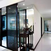 东南亚风格简约厨房隔断门设计装修效果图