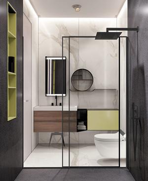 后现代风格简约小户型卫生间装修效果图