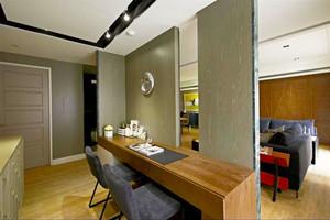 现代风格精装卧室隔断设计装修效果图