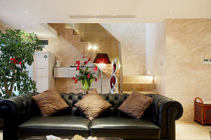 180平米新古典主义风格复式楼装修效果图案例