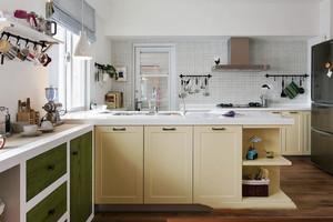 宜家风格简约小厨房设计装修效果图