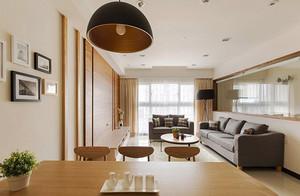 81平米宜家风格简约两室一厅设计装修效果图赏析