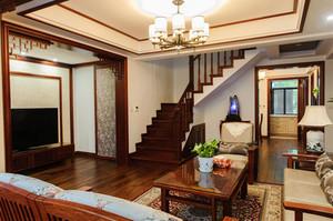 280平米古典中式风格精致别墅室内装修效果图赏析