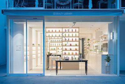 64平米现代风格化妆品店装修效果图