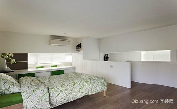 81平米北欧风格简约loft装修效果图案例赏析