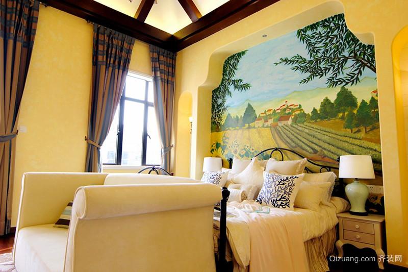 300平米地中海风格精致别墅室内装修效果图赏析