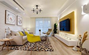 120平米清新风格文艺简约室内装修效果图赏析