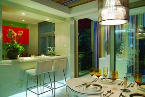 80平米现代简约个室内设计装修效果图赏析