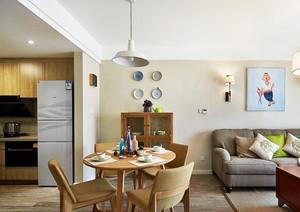 75平米宜家风格简约两室一厅装修效果图案例