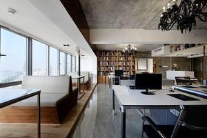 96平米现代风格办公室装修效果图