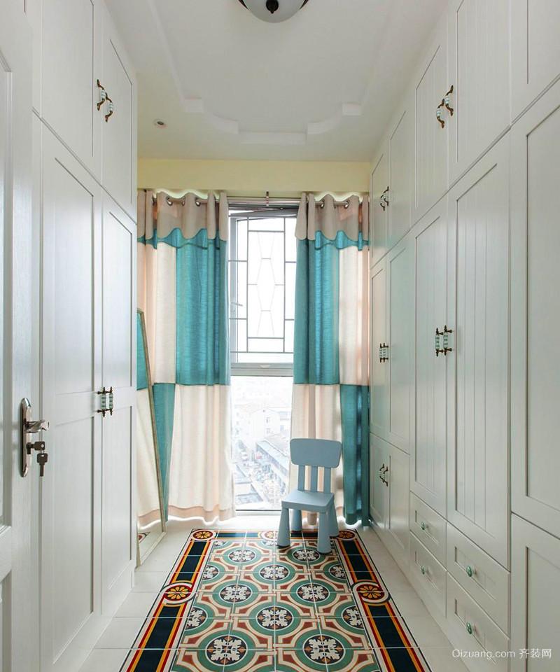 90平米地中海风格清新室内装修效果图赏析
