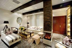 279平米简欧风格精致别墅室内装修效果图案例