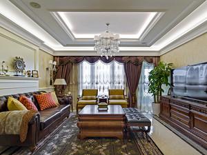 159平米欧式风格精致大户型室内装修效果图赏析