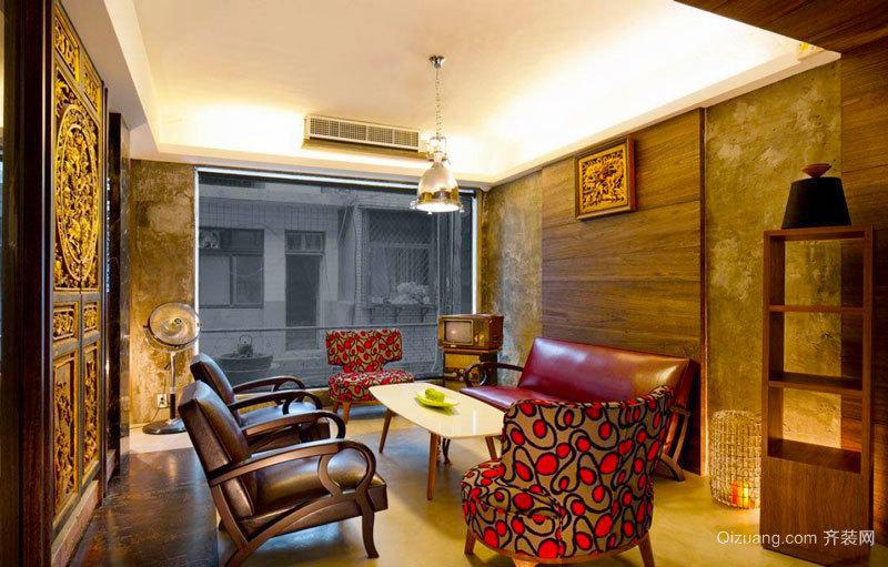 欧式风格奢华别墅室内精美吧台设计装修效果图