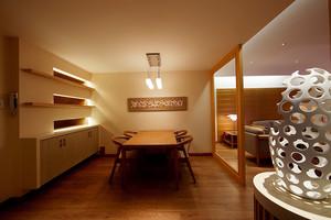 90平米新中式风格简约室内装修效果图案例