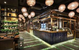 120平米东南亚风格餐厅设计装修效果图赏析