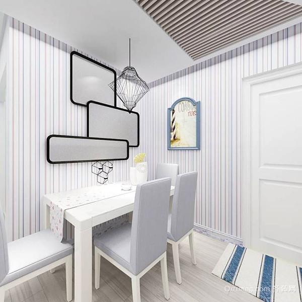 79平米地中海风格两室一厅室内装修效果图赏析