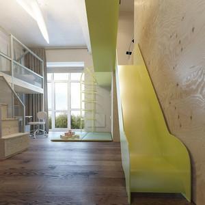 现代简约风格创意时尚儿童房设计装修效果图赏析