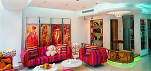 时尚个性混搭风格别墅室内装修效果图赏析
