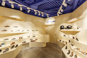 66平米后现代风格鞋店吊顶设计装修效果图