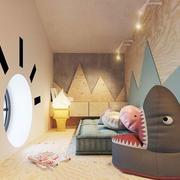 北欧风格简约创意儿童房设计装修效果图