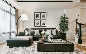 189平米简欧风格精致别墅室内装修效果图案例