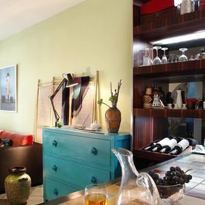 86平米时尚混搭风格个性时尚公寓装修效果图赏析