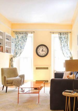 55平米现代简约风格温馨单身公寓装修效果图