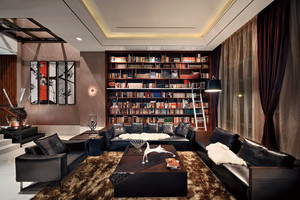 260平米中式风格古韵犹存别墅室内装修效果图赏析