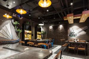 69平米时尚混搭风格餐厅设计装修效果图赏析